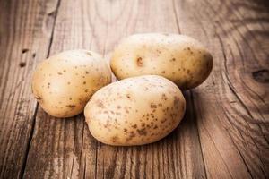 frische Kartoffel foto