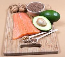 Quellen für Omega-3-Fettsäuren foto