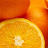 Gruppe von Orangen foto