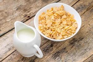 gesunder Frühstückshintergrund. foto
