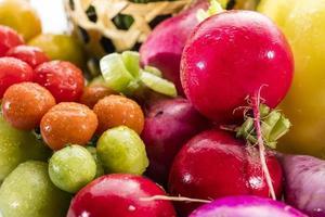 bunt von Obst und Gemüse foto