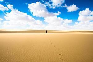 Wüste in Ägypten foto