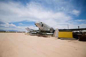 Flugzeugfriedhof foto