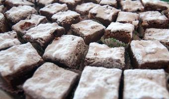Schokoladenkuchen foto