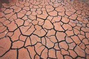 trockener Boden Hintergrund. foto