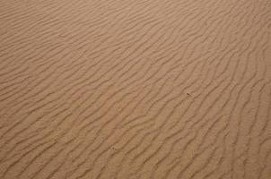 Sand kräuselt sich