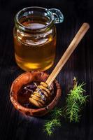 Honig mit Lavendel foto