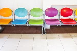 moderne Stühle foto
