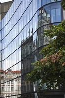 modernes Gebäude in Budapest