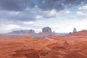 Tal Denkmal Canyon Colorado Sandstein