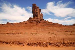 Monument Valley, Wüstenschlucht in Utah, USA foto