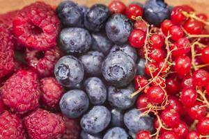 Beerenfrüchte mischen. foto