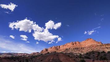 Hauptstadt Riff np, Utah foto