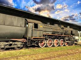 historische Dampfmaschine foto