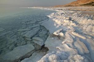 Blick auf das Tote Meer foto