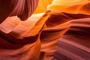 Sandstein Textur in Antilopenschlucht, Seite, Arizona foto