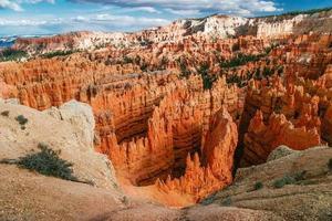 Blick aus Sicht des Bryce Canyon. foto