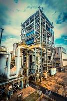 Installation von Industrieausrüstungen foto