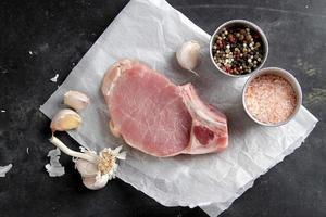 rohes frisches Fleisch foto