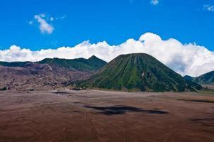 Vulkane des Brom National Park, Java, Indonesien foto