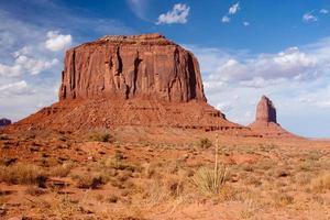 Merrick Butte im Monument Valley foto