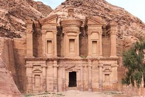 alter tempel in petra, jordan