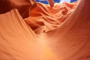 Antilopenschlucht, Arizona, USA foto