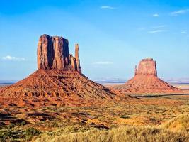 die Fäustlinge des Monument Valley foto