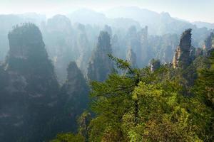 Zhangjiajie Nationalpark, China foto