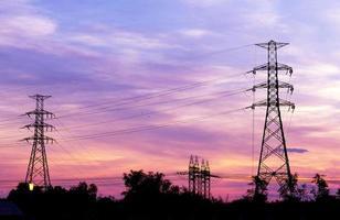 elektrischer Stromturm