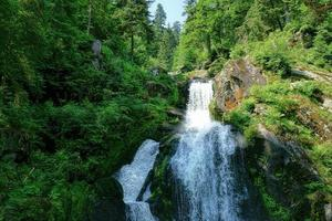 Triberg Wasserfälle im Schwarzwald, Deutschland foto