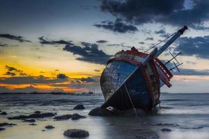 Schiff verlassen foto