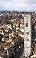 Blick auf Florenz mit dem Dom foto