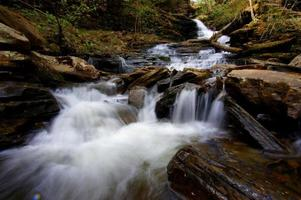 Wasserfall - Wasser ist der Treiber der Natur foto