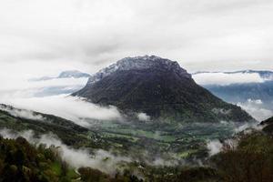 Néron-Gipfel, in der Nähe von Grenoble. foto