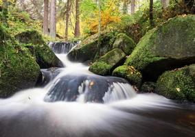 Wyming Brook, Peak District, Großbritannien foto
