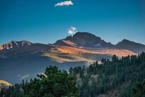 Longs Peak bei Sonnenuntergang