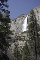Yosemite Wasserfall foto