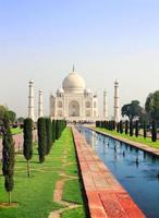 Taj Mahal Mausoleum, Agra, Indien foto
