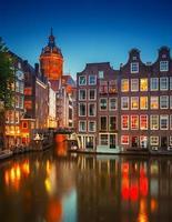 Amsterdam in der Nacht