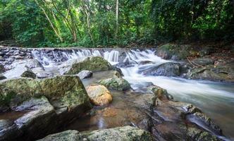 Wasserfall Zeitlupe stock photo foto