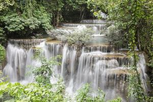 Huai Mae Khamin Wasserfall in Kanchanaburi foto