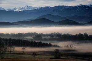 Berglandschaft der Pyrenäen (Frankreich)