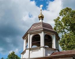 Kuppel mit einem Kreuz foto
