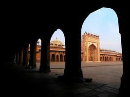 Geisterstadt in Indien. fatehpur sikri. foto
