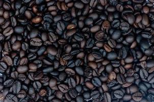 der nahtlose Hintergrund der Kaffeebohnen für Grafiken. foto
