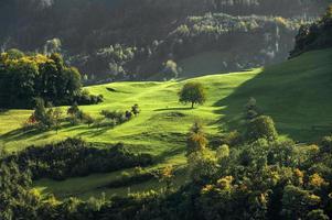 Herbstalpen in der Schweiz, eine wunderschöne Herbstlandschaft