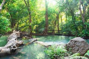 Andaman Thailand Outdoor-Fotografie von Wasserfall