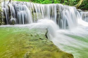 Wasserfall in Kanchanaburi foto