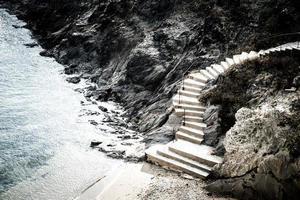 Treppen in Katalonien foto